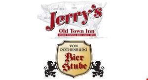 Jerry's Old Town Inn & Von Rothenburg Bier Stube logo