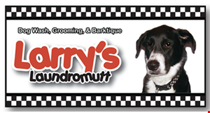 Product image for Larry's Laundromutt $2 off nail trim.