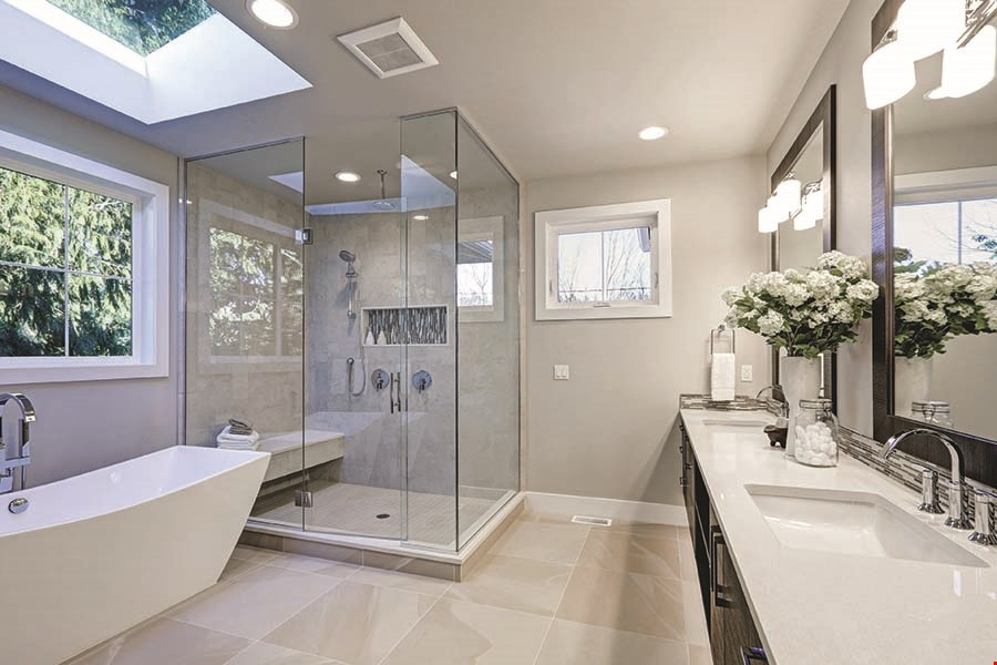 Product image for DREAM MAKER BATH & KITCHEN FREE LAV faucet with complete bathroom remodel up to $250 value.