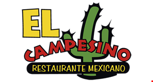 Product image for El Campesino Restaurante Mexicano $3 OFF any order of $15 or more.