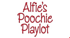 Alfie's Poochie Playlot logo