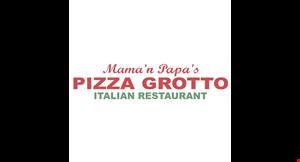 Mama 'N Papa's Pizza Grotto logo