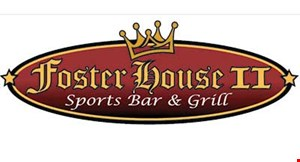 Product image for Foster House II $5 off any purchase of $25 or more.