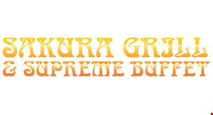 Sakura Grill & Supreme Buffet logo