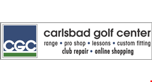 Product image for Carlsbad Golf Center $1 OFF Medium or Small Bucket