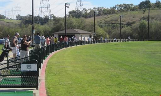 Product image for Carlsbad Golf Center $3 off Jumbo Range Bucket