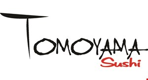 Product image for Tomoyama Sushi 10% off lunch