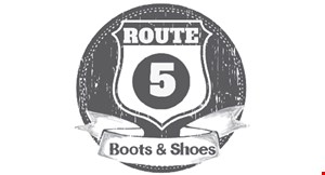 Route 5 Boots and Shoes logo