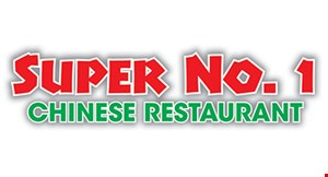 Product image for Super No. 1 Chinese Restraurant $3 OFF any purchase of $30 or more TAKEOUT ONLY.