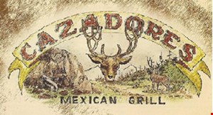 Product image for Cazadores Mexican Grill $5 off any purchase
