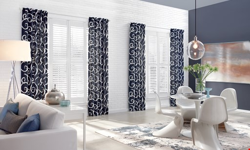 Product image for Lachina Drapery & Blind Factory free cordless option on select American Made shades.