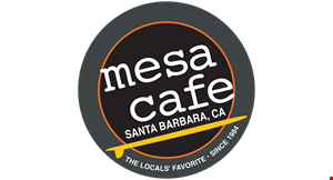 Product image for Mesa Cafe $8 Off your guest check of 50 or more (before tax).