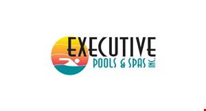 Product image for Executive Pool & Spa $48,000 32' x 16' Pool