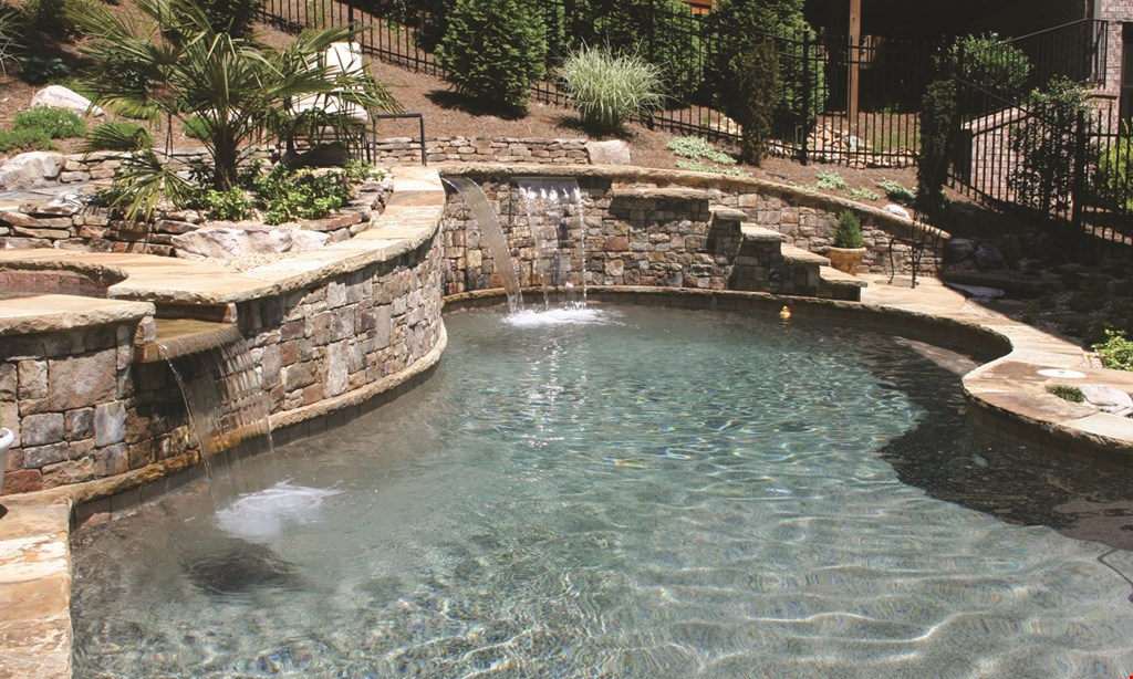 Product image for Executive Pool & Spa $48,000 32' x 16' Pool
