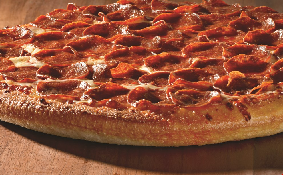 Product image for Papa John's $22 2 large 1-topping pizzas & 2 ltr