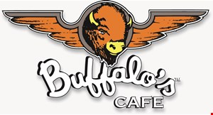 Product image for Buffalo's Cafe - Woodstock $38.99 FAMILY OF 4 DINNER DEAL.