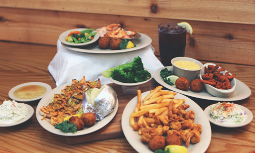 Product image for Sam's St. John's Seafood - Normandy $2 Off Fried shrimp dinner served with two sides