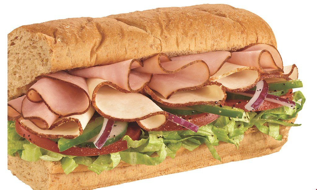 Product image for Subway $1 OFF ANY FOOTLONG FRESH VALUE MEAL