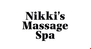 Nikki's Massage Spa logo