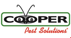 Product image for Cooper Pest Solutions ave $50 on any Year-Round Pest Control Program.