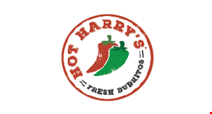 Hot Harry's Burritos logo
