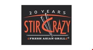 Stir Crazy Fresh Asian Grill logo