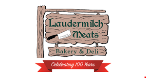 Product image for Laudermilch Meats Bakery & Deli 50% OFF any soup up to 1 quart.