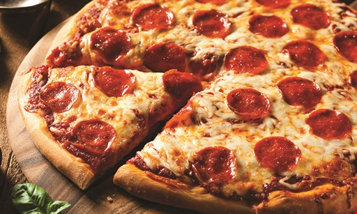 Product image for I Love NY Pizza Delmar $39.95 2 large 18-inch 12-cut cheese pizzas, 20 jumbo wings & one 2-liter soda