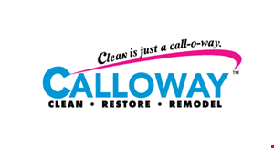 Product image for Calloway $1 area rug Cleaning.