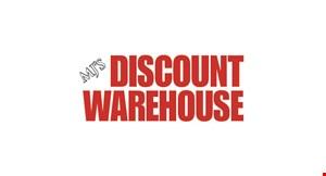 Mj's Discount Warehouse logo