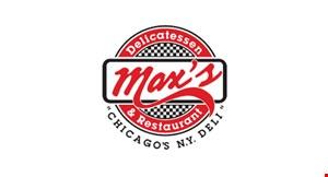 Max's Delicatessen & Restaurant logo