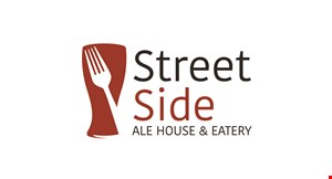 Product image for Street Side Ale House & Eatery $5 off any purchase