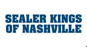 Product image for Sealer Kings of Nashville $25off any driveway asphalt repair
