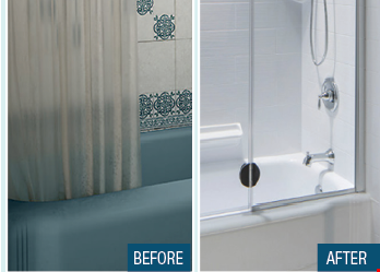 Product image for Bath Fitter 10% off with the purchase of a complete Bath Fitter System (tub, wall, valve or shower, wall, valve)0% Interest Financing with Wells Fargo Credit Approval.