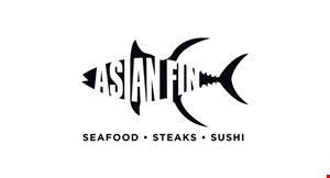 Product image for Asian Fin $15 off any takeout order