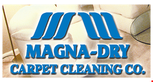 Magna-Dry Carpet Cleaning Co. logo