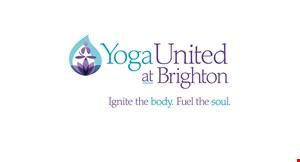 Yoga United at Brighton logo