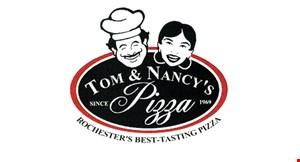 Tom & Nancy's Pizza logo