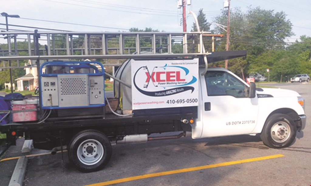 Product image for Xcel Power Washing Services $199 whole house special under 2000 sq. ft..