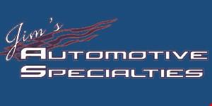 Jim's Automotive Specialties logo