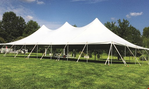 Product image for Delaware Valley Tent Rentals $300 Off any 2020/2021 wedding or event rental