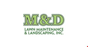 Product image for M&D Lawn Maintenance & Landscaping, Inc. 10% OFF any job of $500 or more