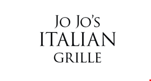Product image for Jo Jo's Italian Grille $19.99 large pizza,1 lb. wings & 2-liter soda
