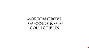 Morton Grove Coins & Collectibles logo