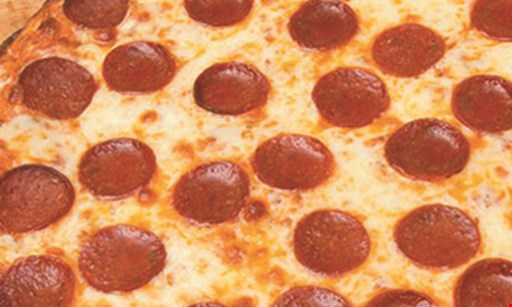 Product image for CARBONE'S PIZZERIA $57.95 + tax sheet pizza cheese & 1 topping + 50 wings