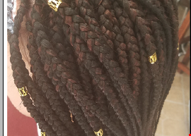 Product image for AFRICAN BEAUTY OF BRAIDING $15 off Box Braids