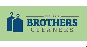 Product image for Brothers Cleaners $5 FREE Dry Cleaning ($10 minimum order)