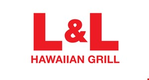 Product image for L & L Hawaiian Grill $2 OFF any purchase of $10 or more.