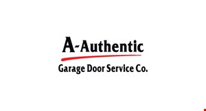 A-AUTHENTIC GARAGE DOOR COMPANY logo