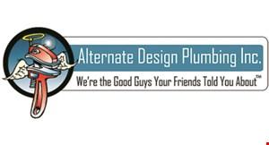 Alternate Design Plumbing logo